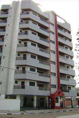 Apartamento, código 240801 em Mongaguá, bairro Vila Atlântica