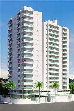 Apartamento, código 239301 em Praia Grande, bairro Solemar