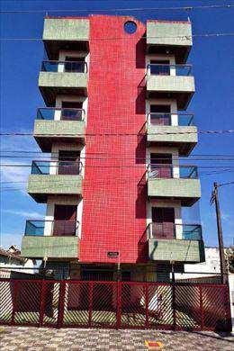 Apartamento, código 210400 em Mongaguá, bairro Agenor de Campos