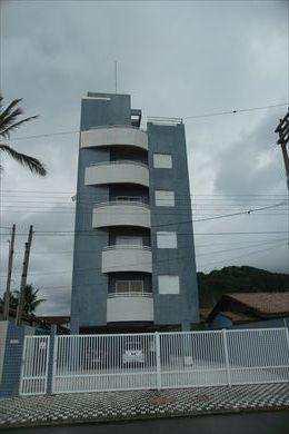 Apartamento, código 154102 em Mongaguá, bairro Vila Vera Cruz