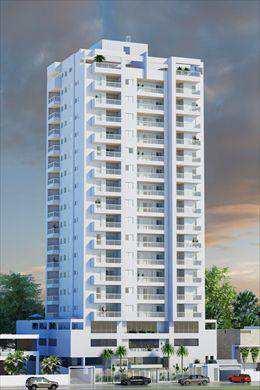 Apartamento, código 27807 em Mongaguá, bairro Centro