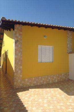 Casa, código 22807 em Mongaguá, bairro Jardim Leonor