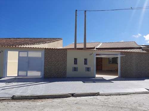 Casa, código 279375 em Mongaguá, bairro Jardim Aguapeu