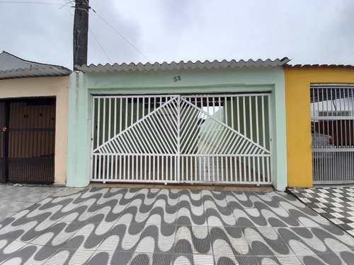 Casa, código 279417 em Mongaguá, bairro Jardim Aguapeu