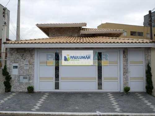 Casa, código 13305 em Praia Grande, bairro Caiçara