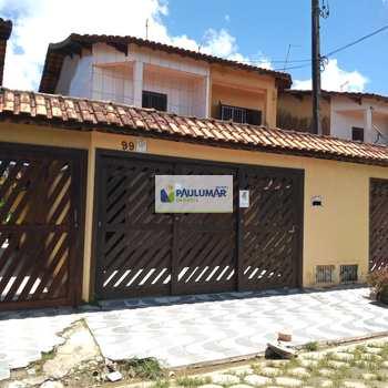 Sobrado em Mongaguá, bairro Balneário Itaóca
