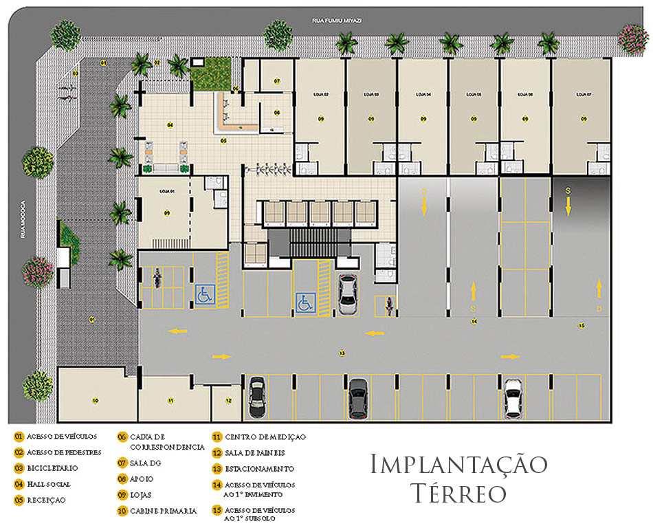 empreendimento em Praia Grande, bairro Boqueirão
