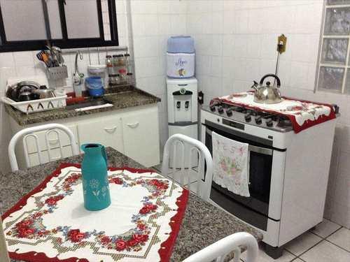 Apartamento, código 1143 em Praia Grande, bairro Aviação