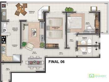 Apartamento, código 14879440 em Praia Grande, bairro Guilhermina