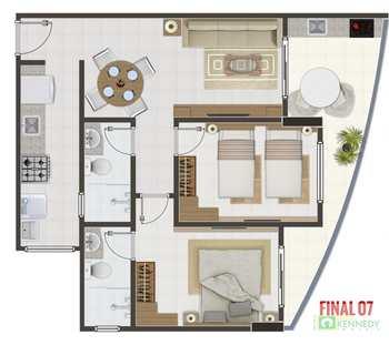 Apartamento, código 14879348 em Praia Grande, bairro Canto do Forte