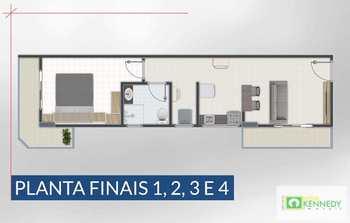 Apartamento, código 14876768 em Praia Grande, bairro Aviação