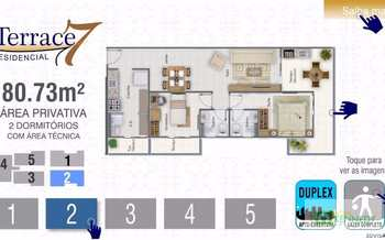 Apartamento, código 14879425 em Praia Grande, bairro Guilhermina