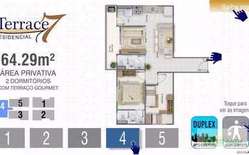 Apartamento, código 14879427 em Praia Grande, bairro Guilhermina