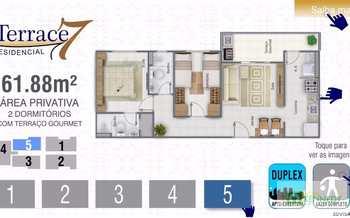Apartamento, código 14879428 em Praia Grande, bairro Guilhermina