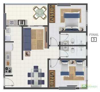 Apartamento, código 14876772 em Praia Grande, bairro Canto do Forte