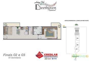 Apartamento, código 14876776 em Praia Grande, bairro Guilhermina