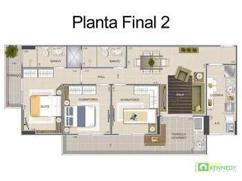 Apartamento, código 14879529 em Praia Grande, bairro Ocian