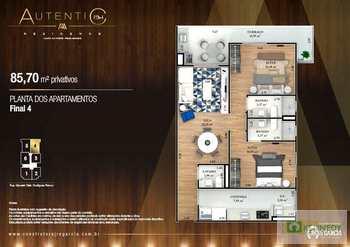 Apartamento, código 14879334 em Praia Grande, bairro Canto do Forte