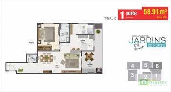 Apartamento, código 14879346 em Praia Grande, bairro Canto do Forte