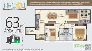 Apartamento, código 14879350 em Praia Grande, bairro Canto do Forte