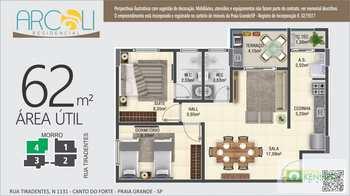 Apartamento, código 14879352 em Praia Grande, bairro Canto do Forte