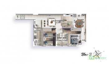 Apartamento, código 14879383 em Praia Grande, bairro Canto do Forte