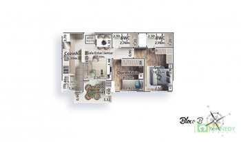 Apartamento, código 14879385 em Praia Grande, bairro Canto do Forte