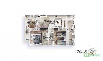 Apartamento, código 14879386 em Praia Grande, bairro Canto do Forte