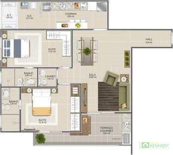 Apartamento, código 14879405 em Praia Grande, bairro Boqueirão