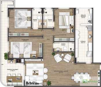 Apartamento, código 14879468 em Praia Grande, bairro Canto do Forte