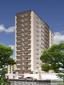 Apartamento, código 849700 em Praia Grande, bairro Tupi