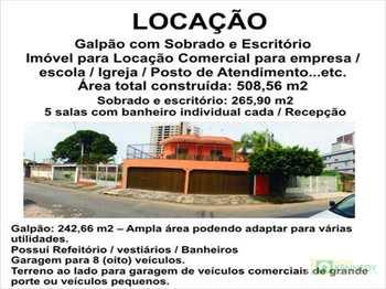 Sobrado Comercial, código 196102 em Praia Grande, bairro Caiçara