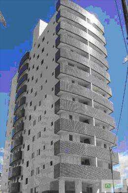 Apartamento, código 128201 em Praia Grande, bairro Mirim