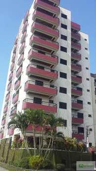 Apartamento, código 14877615 em Praia Grande, bairro Caiçara