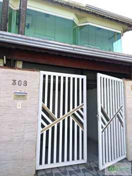 Sobrado, código 14880890 em Praia Grande, bairro Nova Mirim