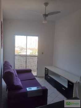 Apartamento, código 14881670 em Praia Grande, bairro Caiçara