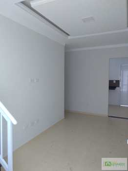Casa de Condomínio, código 14881819 em Praia Grande, bairro Nova Mirim