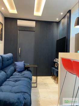 Apartamento, código 14882907 em Santos, bairro Boqueirão