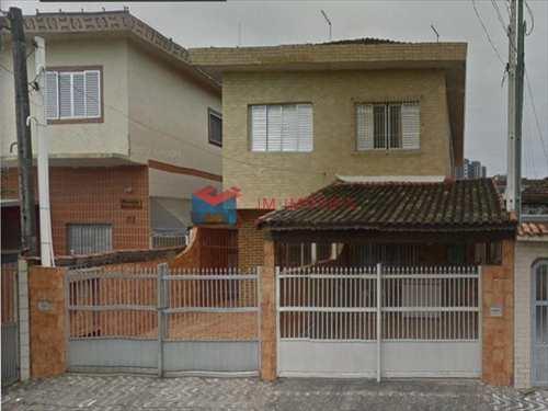 Sobrado, código 408500 em Praia Grande, bairro Caiçara