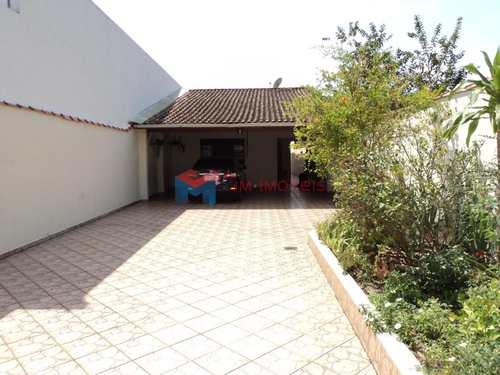 Casa, código 408000 em Praia Grande, bairro Caiçara