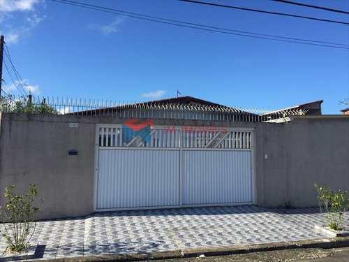 Casa, código 400200 em Praia Grande, bairro Caiçara