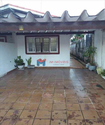 Casa, código 399500 em Praia Grande, bairro Caiçara