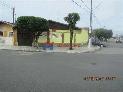 Casa, código 381100 em Praia Grande, bairro Caiçara