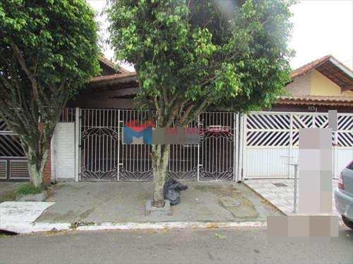 Casa, código 376700 em Praia Grande, bairro Caiçara