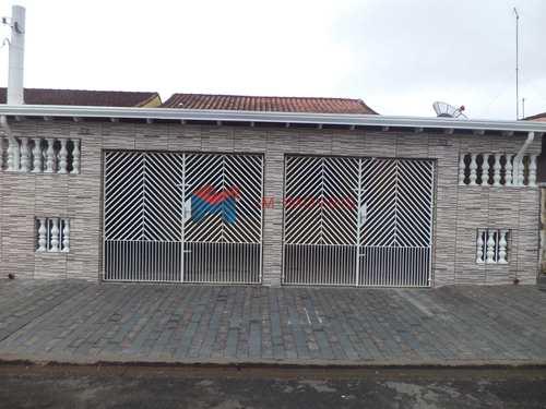 Casa, código 374800 em Praia Grande, bairro Caiçara