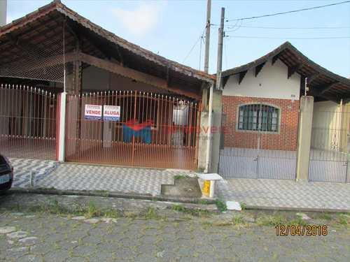 Casa, código 355001 em Praia Grande, bairro Caiçara