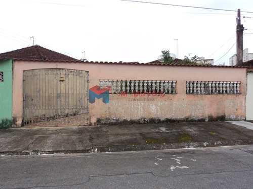 Casa, código 335700 em Praia Grande, bairro Caiçara