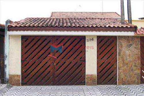 Casa, código 297500 em Praia Grande, bairro Caiçara