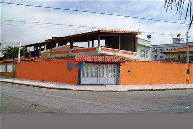 Casa, código 279801 em Praia Grande, bairro Caiçara