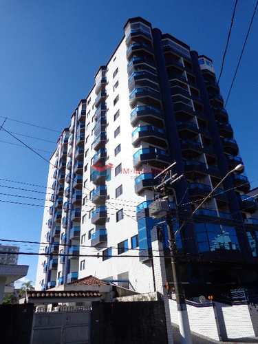 Apartamento, código 412147 em Praia Grande, bairro Guilhermina